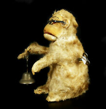 Monkey Automate to The Bell Automaton Monkey With Bell 5 7/8in Toy Old Curiosia