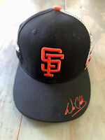 SF Giants Will Clark #22 Cap - Adjustable Snapback, Facsimile Autograph, SGA