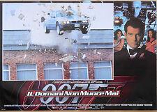 FOTOBUSTA 1, 007 BOND IL DOMANI NON MUORE MAI Tomorrow Never Dies AUTO CAR