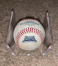 Chicago Cubs Game Used Baseball - 2014 Wrigley Field 100 Ann Season MLB Hologram