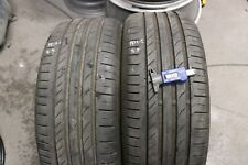 PAIR OF CONTINENTAL CONTISPORTCONTACT5 SSR 225/45/R18 91Y RUNFLATS *5.5 / 5.3mm*