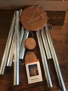 WOODSTOCK GREGORIAN CHIMES ALTO SILVER WIND CHIMES - New in Box