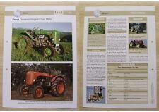 STEYR Traktor Schlepper Typ 180 a 1953 Weltbild