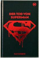 Der Tod von Superman - signiert von Dan Jurgens - HC limitiert - Panini