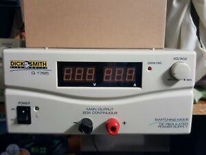 Power Supply MANSON Dick Smith, 40 amp, 13.8 adjustable. only used for demo.