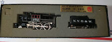 Vintage Nickel Plate HO Scale Brass NYO&W U Class 2-6-0 Steam Locomotive #252
