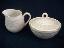 Imperial China W Dalton Whitney Sugar Bowl & Creamer Set NICE