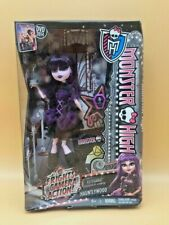 2014 MONSTER HIGH DOLL MUNECA FRIGHTS CAMERA ACTION! ELISSABAT HAUNTLYWOOD