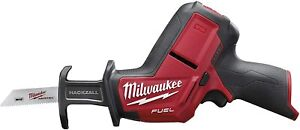 Milwaukee M12CHZ-0 M12 12v Cordless Reciprocating Saw compact hacksaw body only