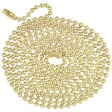 (J) Westinghouse 70168 5' Brass Beaded Pull Chain, QTY 8