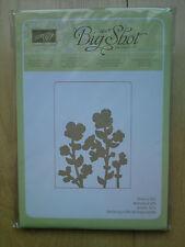 Stampin up Sizzix Prägeform Wildblumen für Big Shot und andere Geräte