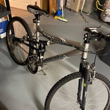Unisex, gray, mongoose, used, bicycle, 26 x 1.95 tire size