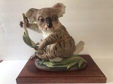 "Vtg Boehm Figurine Sculpture ""Baby Koala� 400-36; No.16882; Pb1999"