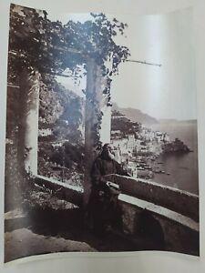 Fine XIX Foto Amalfi Panorama Terrazza Convento dei Cappuccini Giorgio Sommer