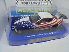 "Scalextric C3603 Maserati Trofeo ""World Series 2012"" #20 lights / DPR  BNIB"