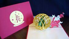 3D POP UP CARD CHRISTMAS CARD.