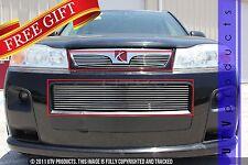 GTG 2006 - 2007 Saturn Vue Red Line 2PC Polished Overlay Billet Grille Grill Kit