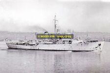 rp13531 - New Zealand Warship - HMNZS Arbutus , built 1944 - photo 6x4