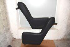 BMW E9 2800 3.0 cs csi BRACCIOLI LATERALI sedili posteriori. Rivestimento nero