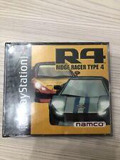 R4 Ridge Racer Type 4 Sony PlayStation 1 1999 PS1 Namco PSOne