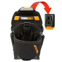 ToughBuilt SPECIALIST DRILL HOLSTER 15-Pockets&2-Screwdriver Loops +ClipTech Hub
