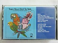 Train your Bird to Talk Cassette Tape and Tips for Speech Training Your Bird