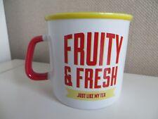 Fruity & Fresh Just Like My Tea Slogan Mug Jamie Oliver