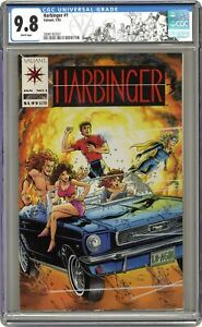 Harbinger 1D Coup. Included CGC 9.8 1992 3696182003