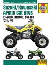 2910 Haynes Suzuki/Kawasaki Arctic Cat ATVs (2003 - 2009) Workshop Manual