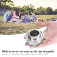 Outdoor Picnic Burner Alcohol Stove Metal Camping Hiking Mini Furnace Pocket
