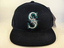 Seattle Mariners MLB Vintage Snapback Hat Cap American Needle Navy