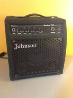 WORKS!! Johnson Warrior Standard 15B Black Amp Amplifier