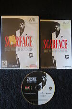 WII : SCARFACE : THE WORLD IS YOURS - Completo, ITA ! Compatibile con Wii U