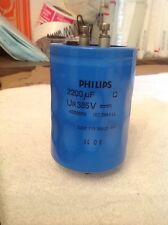 Philips 2222 115 58222 Hp Ur 385V Capacitor 2200Uf