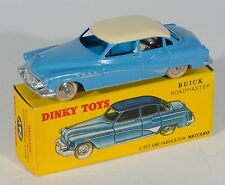 FRENCH Dinky 24V Buick Roadmaster. Blue/Cream. Rare. MINT/BOXED. 1950's