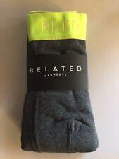Related Garments Gray Boxer Brief and Sock Set RLTD NEW Birchbox Yellow Charcoal
