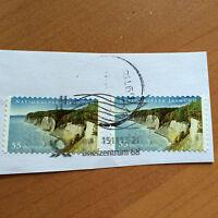 2x Briefmarke - BRD 2012 - Nationalpark Jasmund - 55 Cent - gestempelt - NK 2908
