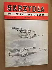 "SKRZYDLA W MINIATURZE n°1*92 (5) - LOCKHEED P-38L-5 LO ""LIGHTNING"""