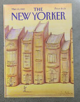 COVER ONLY ~ The New Yorker Magazine, March 15, 1982 ~ Eugene Mihaesco