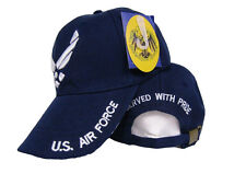 Air Force Wings Served With Pride Retired Blue Hat Ball Cap