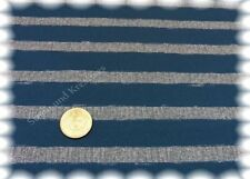 Fleet-Stripe Stretch-Jersey blau grau Hilco Shirtstoff Streifenstoff Blockstreif