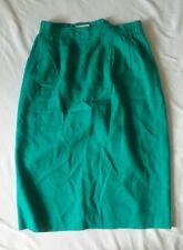 Nordstrom Town Square Women's Blue Green Skirt Sz 12
