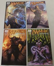 IDW: Magic the Gathering: Path of Vengeance (2012) #1-4 COMPLETE SET