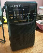 Sony ICF-S14 FM/AM Radio transistor