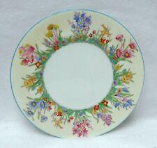 "Wedgwood china Prairie Flowers W1758 pattern Salad Plate - 8"""