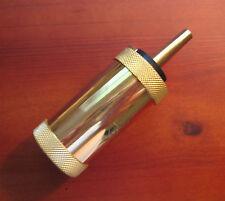Small Revolver Powder Flask - 20 Gr. Spout - For 1851 '58 '60 Pietta Uberti Etc.