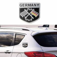3D Metal Aluminium Car Emblem Germany German Flag Grille Badge Decal Sticker