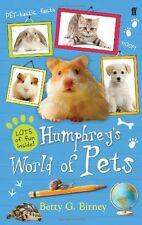 Humphrey's World of Pets,Betty G. Birney