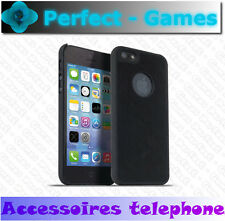 Etui housse coque noire black cover case elegance meliconi Iphone 5 / 5S