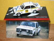Ford Escort RS 1800 rally de costa brava Fernandez 1977